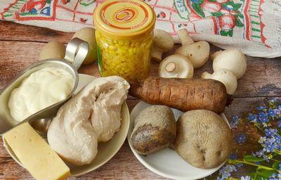 Салат новогодний: ингредиенты