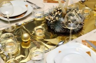 How to set a table for New year 2018