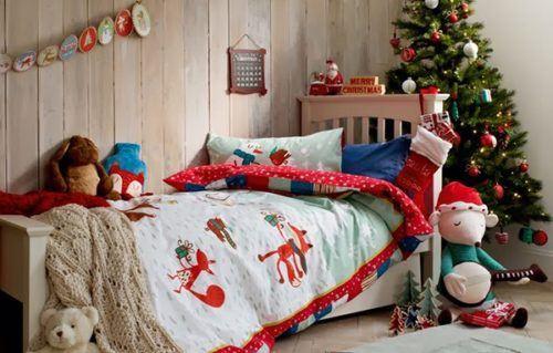как украсить детскую комнату к новому году своими руками