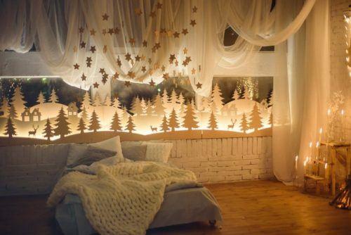 Как украсить детскую комнату к Новому году