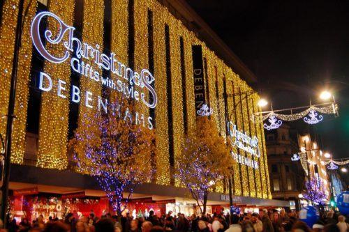 рождественские скидки в Лондоне