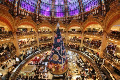 парижский торговый центр